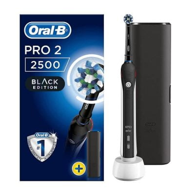 Bàn chải điện Oral-B Pro 2 2500N Cross Action Black