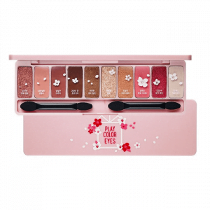 Bảng phấn mắt 10 màu Etude House Play Color Eyes Cherry Blossom 10g