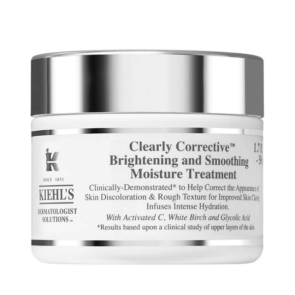 Kem dưỡng ẩm trắng da mờ thâm Kiehl's Clearly Corrective Brightening & Smoothing Moisture Treatment 50ml