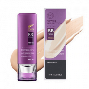 Kem nền chống nắng The Face Shop Face It Power Perfection BB cream SPF 37 PA++ 40g