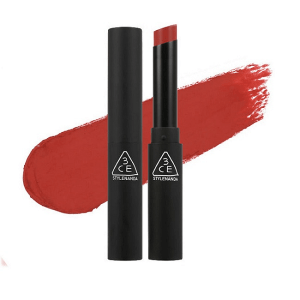 Son 3CE Slim Velvet Lip Color Fluffy Red ( Đỏ Đất )