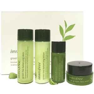 Set dưỡng da trà xanh Innisfree Green Tea Special Kit 75ml