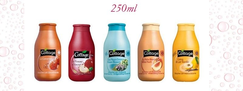 Sữa tắm Cottage Douche Lait 250ml