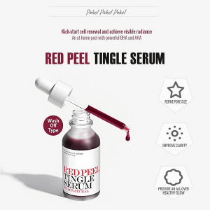 Tinh chất tái tạo da So Natural Red Peel Tingle Serum 35ml