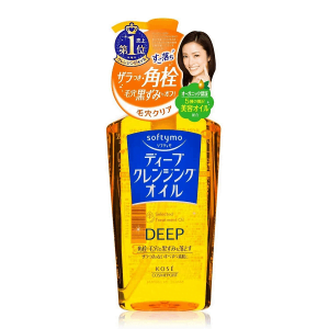 Dầu tẩy trang Kose Softymo Deep Selected Treatment Oil Nhật Bản 230ml