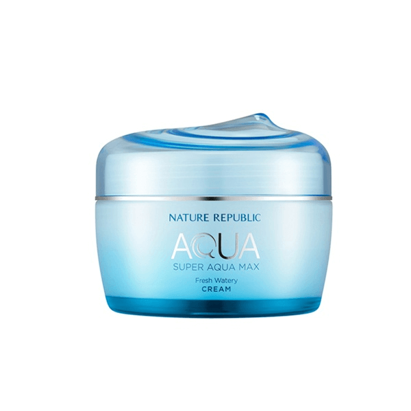Kem dưỡng ẩm Nature Republic Super Aqua Max Fresh Watery Cream 80ml