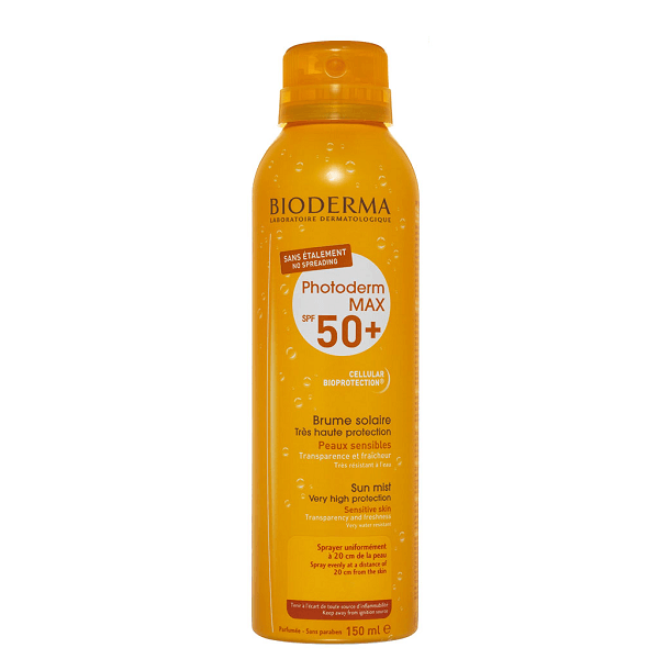 Xịt chống nắng Bioderma Photoderm Max Brume Solaire SPF 50 150ml