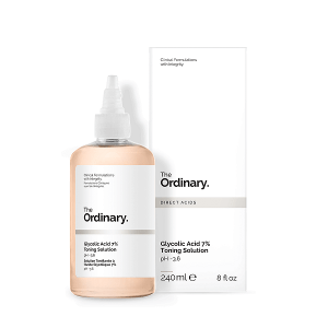 Nước hoa hồng tẩy da chết The Ordinary Glycolic Acid 7% Toning Solution PH~3.6 240ml
