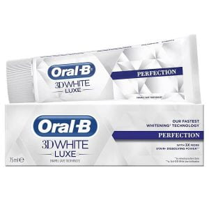 Kem đánh răng Oral-B 3D White Luxe Perfection 75ml