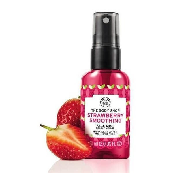 Xịt khoáng The Body Shop Rose Strawberry Smoothing Face Mist 60ml