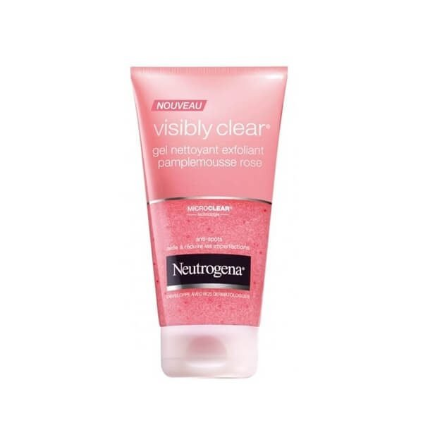 Sữa rửa mặt Neutrogena Visibly Clear Gel Nettoyant Pamplemousse Rose 150ml